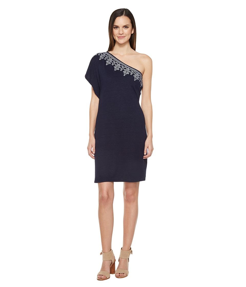 Tommy Bahama Lovelin One Shoulder Short Dress (Ocean Deep) Women