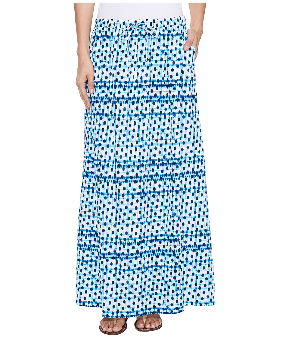 Tommy Bahama - Dot Matrix Maxi Skirt (Old Royal) Women's Skirt