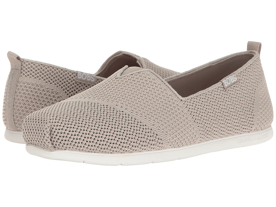 BOBS from SKECHERS Plush Lite (Taupe) Women