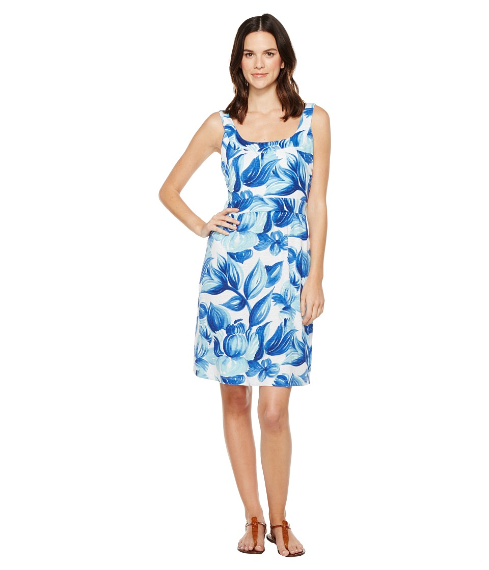 Tommy Bahama - Painterly Petals Short Dress (Old Royal) Women's Dress