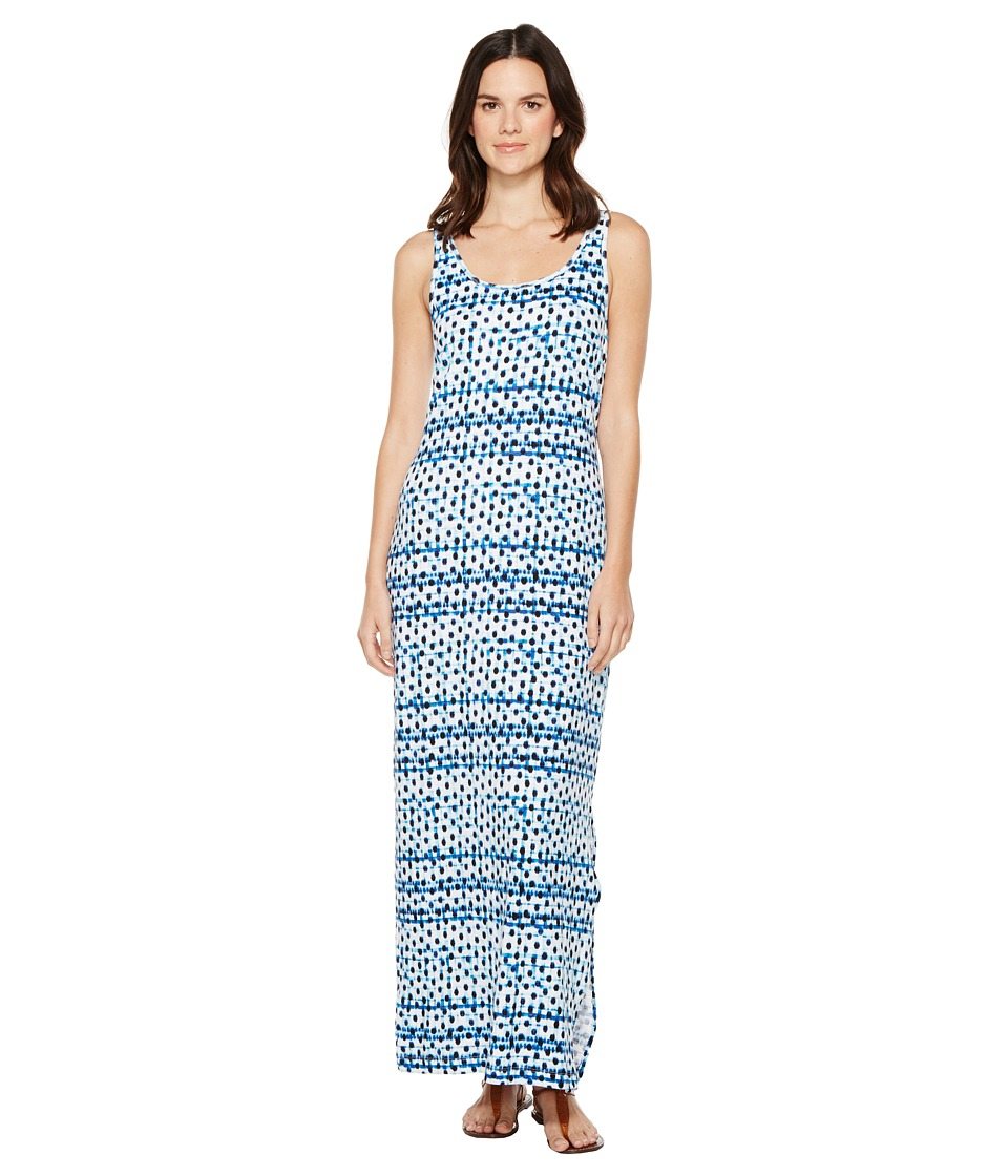 Tommy Bahama - Dot Matrix Maxi Dress (Old Royal) Women's Dress