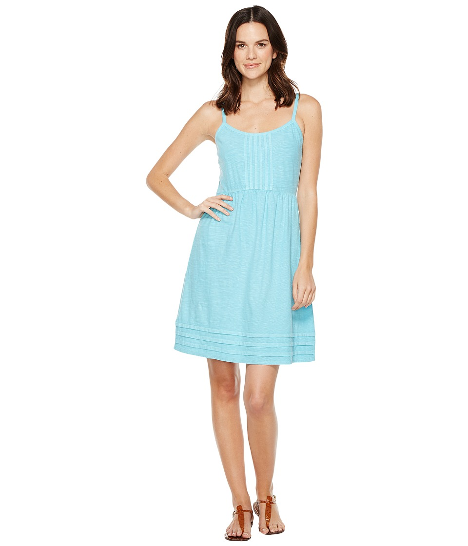 Tommy Bahama - Arden Pleated Short Sundress (Clear Ocean) Women's Dress