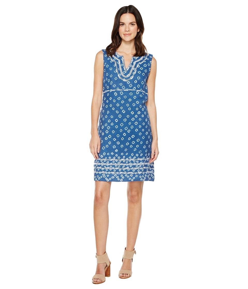 Tommy Bahama - Shibori Nights Short Dress (Indigo) Women's Dress