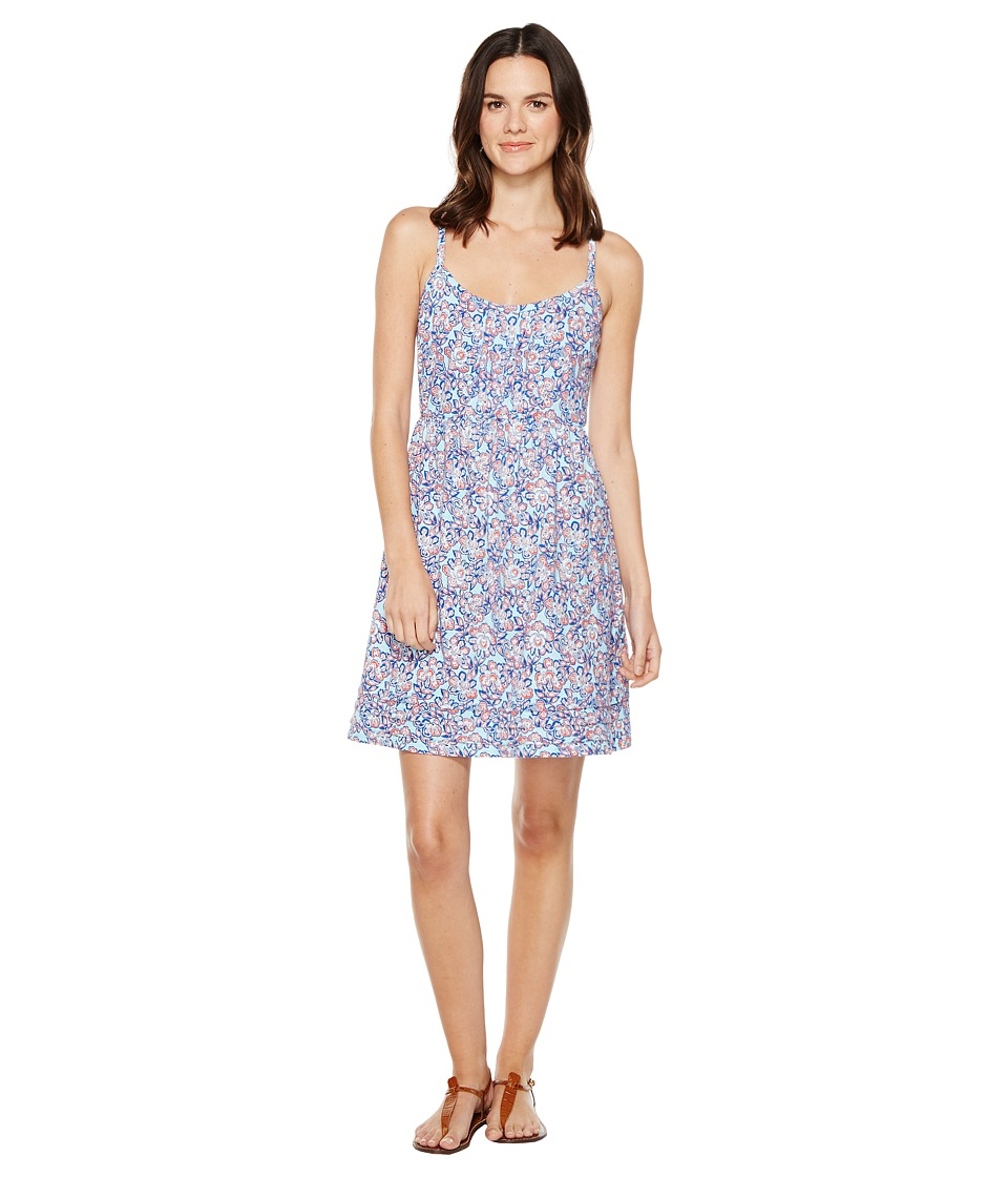 Tommy Bahama - Edessa Blooms Short Sundress (Graceful Sea) Women's Dress