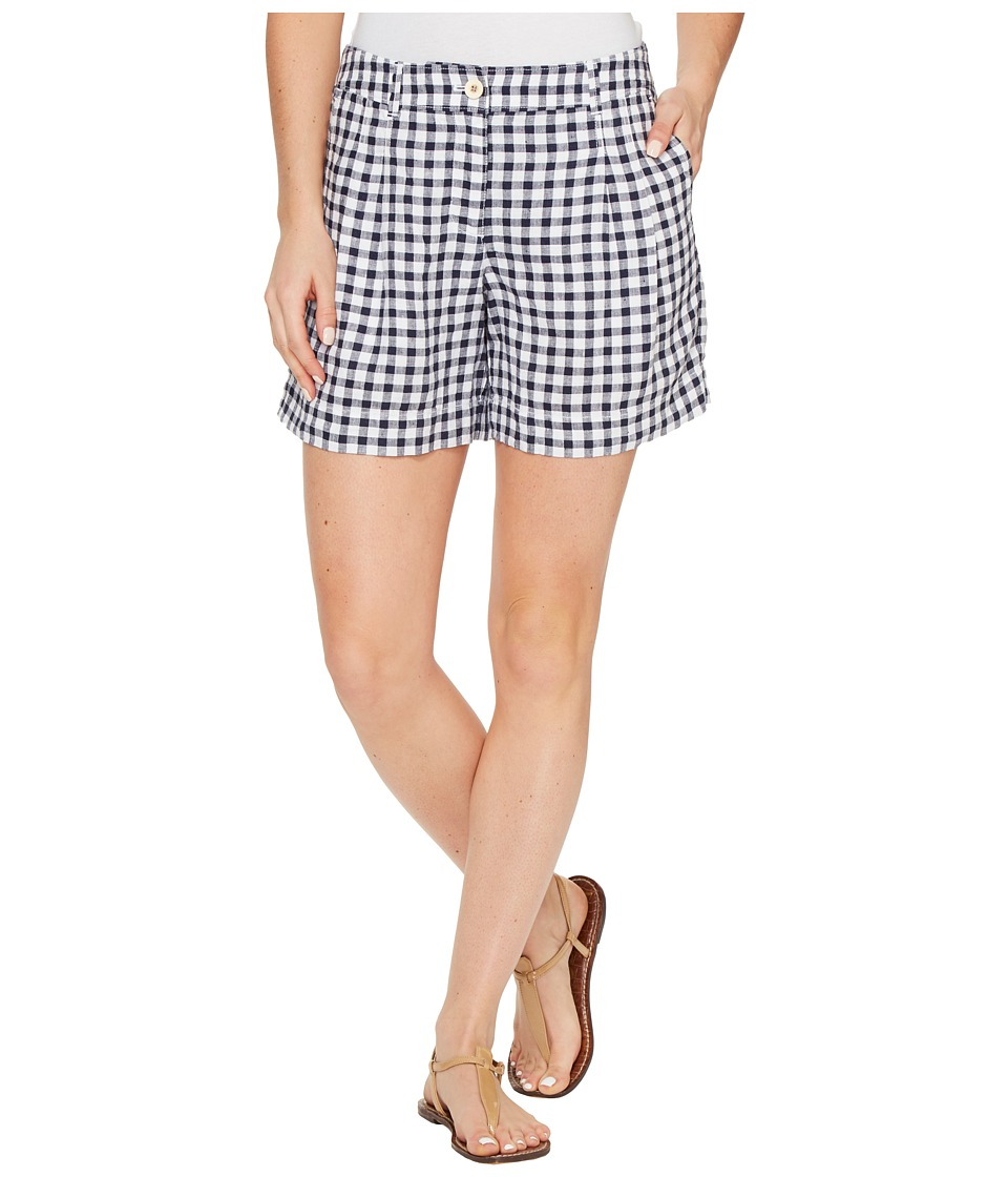 Tommy Bahama - Gingham the Great Shorts (Ocean Deep) Women's Shorts