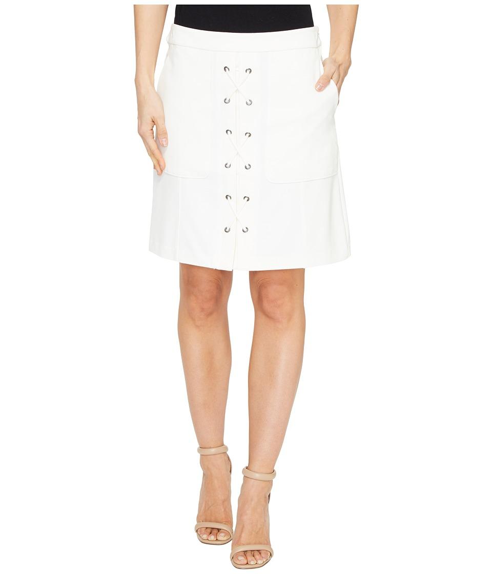 CATHERINE Catherine Malandrino - Arry Skirt (Empire White) Women's Skirt