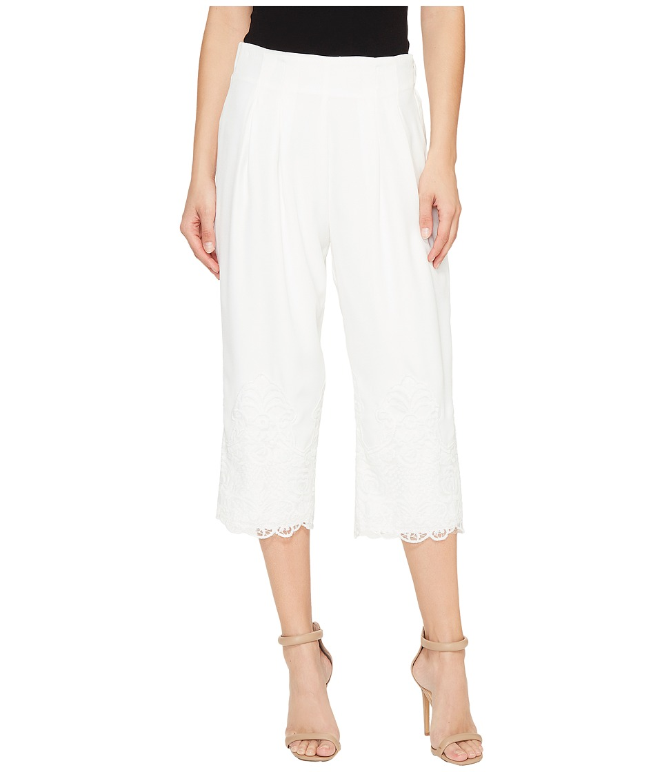 CATHERINE Catherine Malandrino - Talley Pants (Empire White) Women's Casual Pants