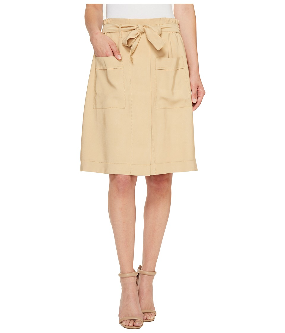 CATHERINE Catherine Malandrino - Tyra Skirt (Roasted Coconut) Women's Skirt