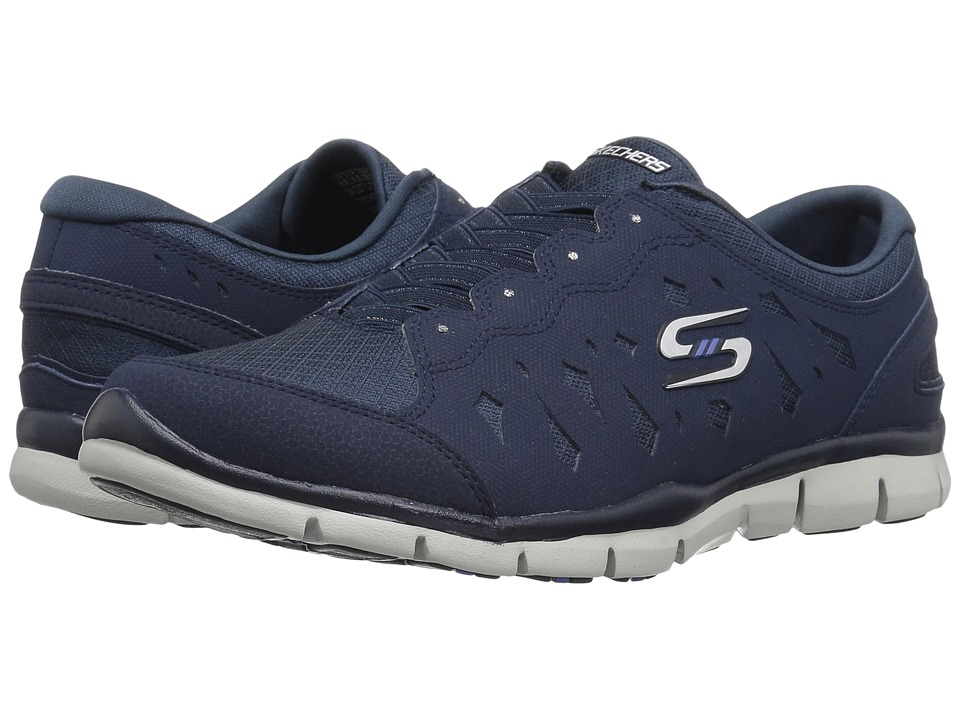 SKECHERS - Gratis - Light Heart (Navy) Women's Shoes