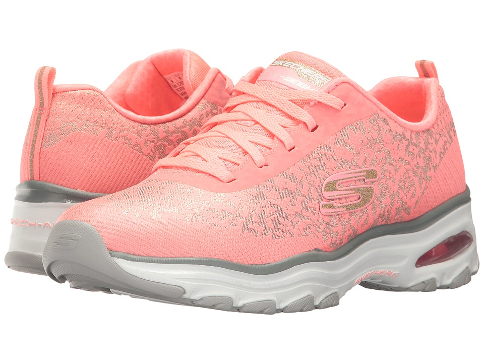 SKECHERS - D'Lites Air (Coral) Women's Shoes