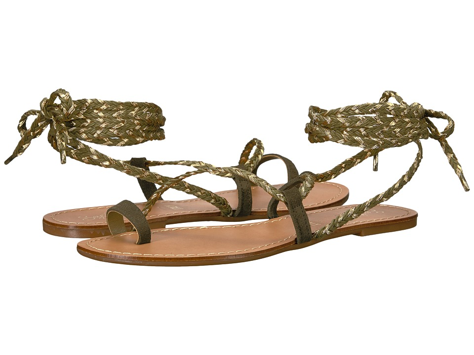 Seychelles - Glory (Olive) Women's Sandals