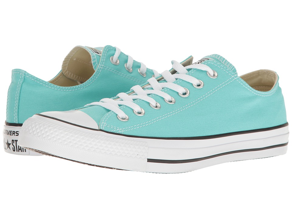 Converse - Chuck Taylor All Star Seasonal OX (Light Aqua) Athletic Shoes