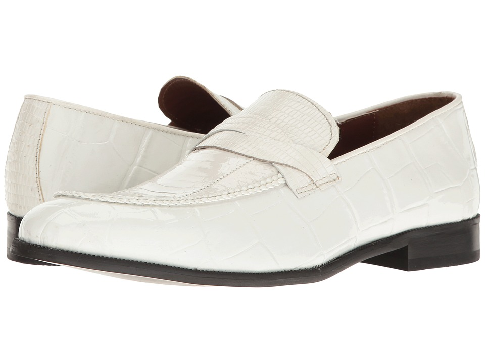 Stacy Adams - Corsica (White) Men's Shoes