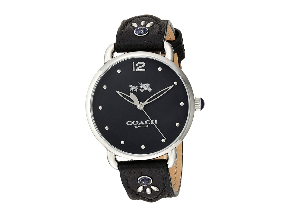 COACH - Delancey - 14502738 (Black) Watches