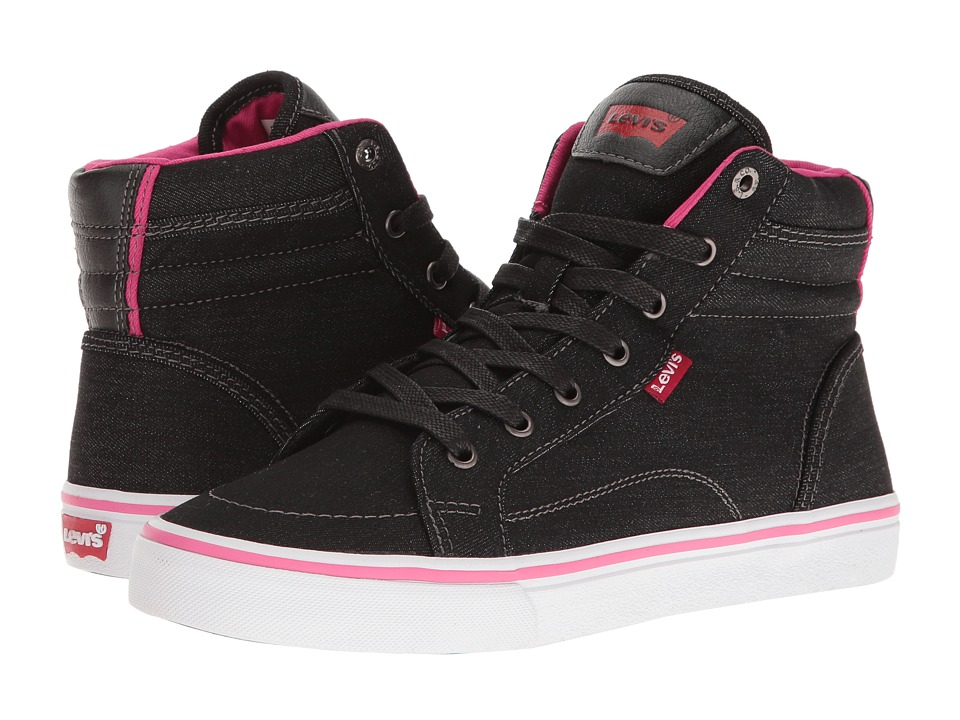 Levi's(r) Shoes - Ashbury Denim (Black/Fuchsia) Women's Shoes