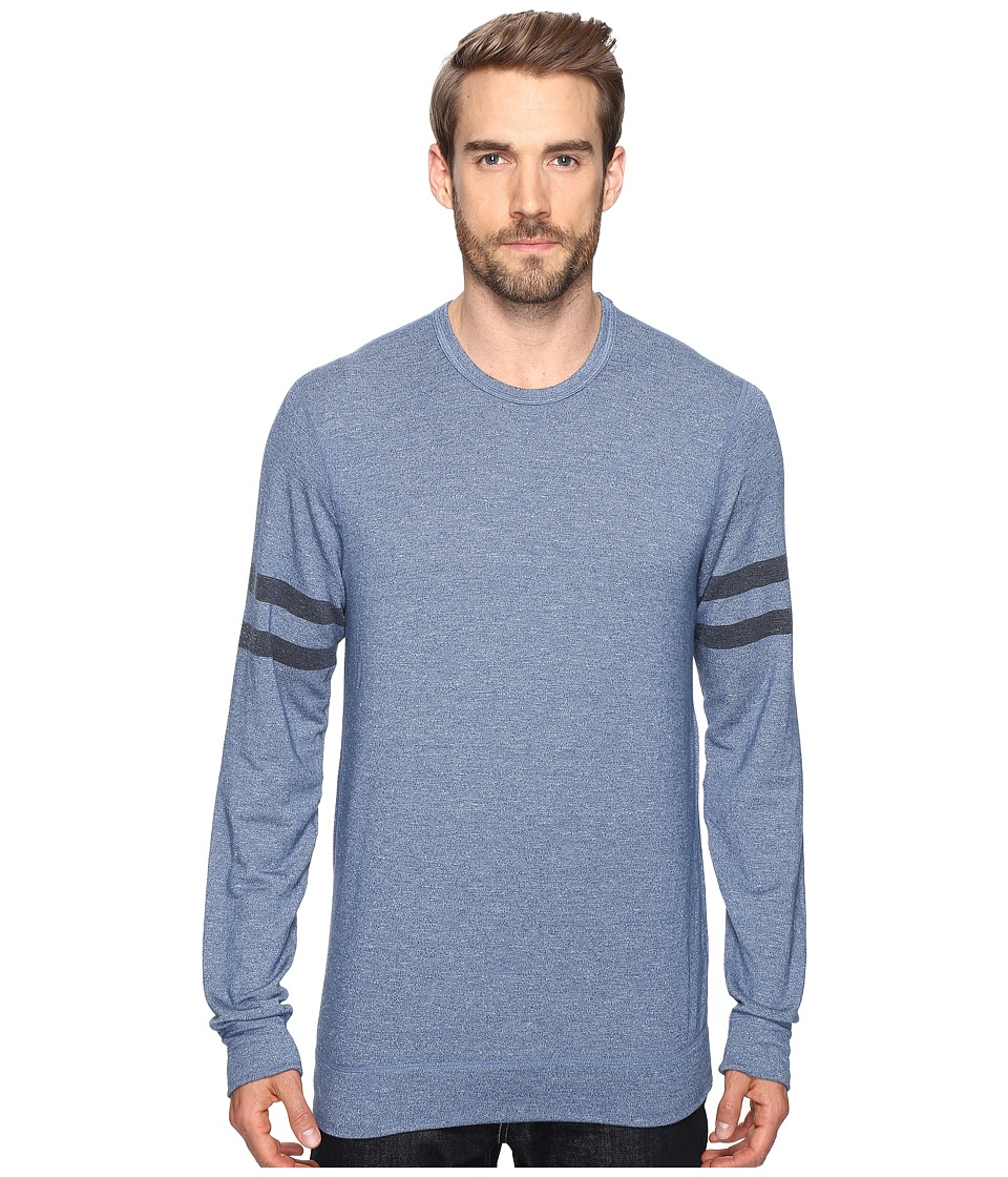 Splendid Mills - Easy Lounge Crew Neck Sweatshirt (Cashmere Blue) Men's Sweatshirt