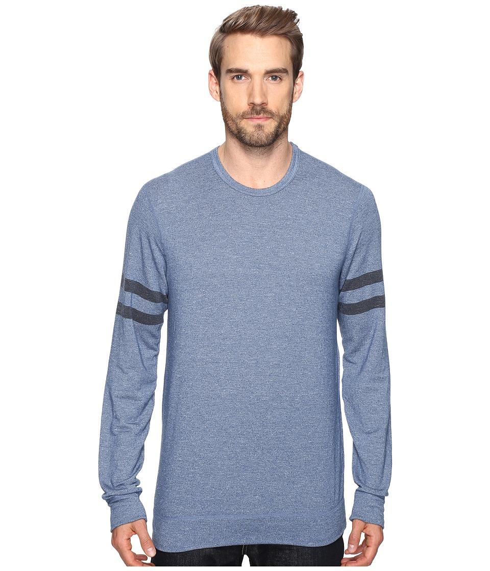 Splendid Mills - Easy Lounge Crew Neck Sweatshirt (Cashmere Blue) Men's Sweatshirt