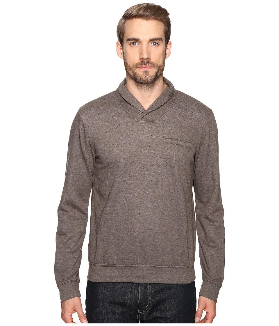 Splendid Mills - Double Face Shawl Collar (Oak) Men's Clothing
