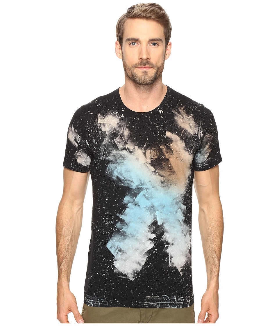 Splendid Mills - Galaxy Treatment Tee (Black) Men's T Shirt