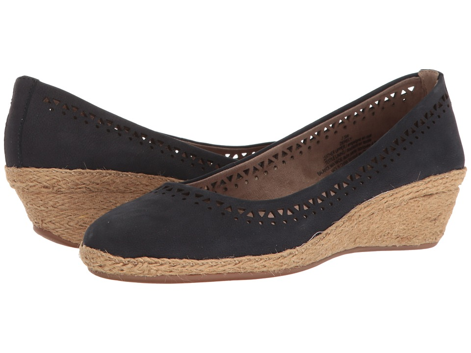 Easy Spirit - Derely (Navy Nubuck) Women's Shoes