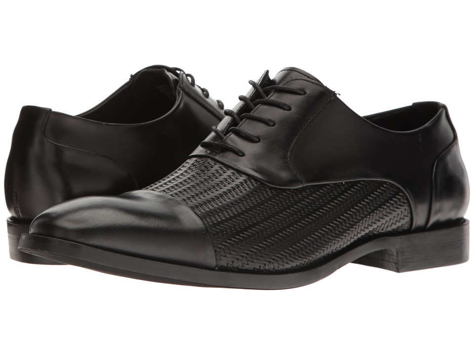 Kenneth Cole New York - Ticket Balance (Black) Men's Lace up casual Shoes