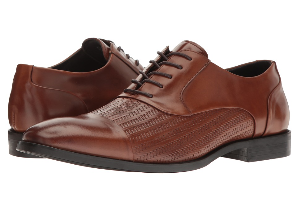 Kenneth Cole New York - Ticket Balance (Cognac) Men's Lace up casual Shoes