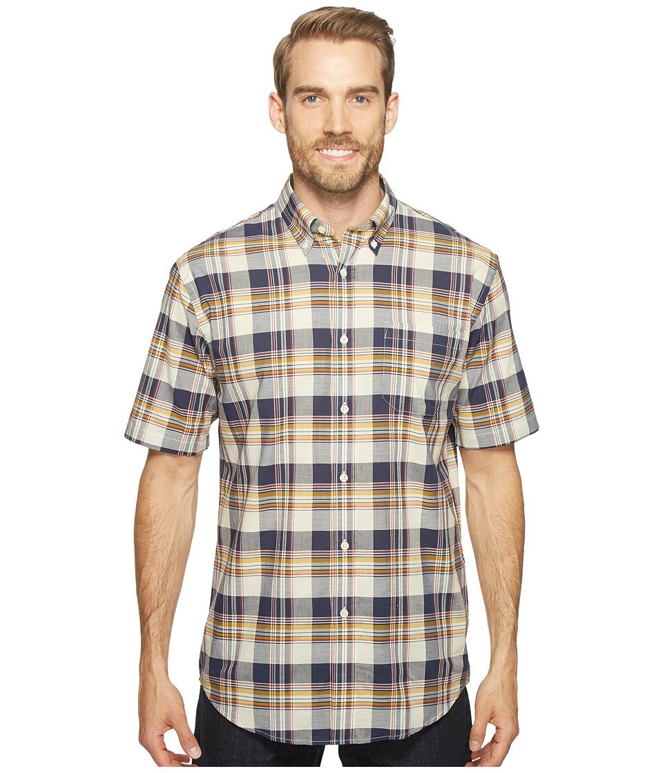 Pendleton - Seaside Shirt (Cream) Men's Short Sleeve Button Up