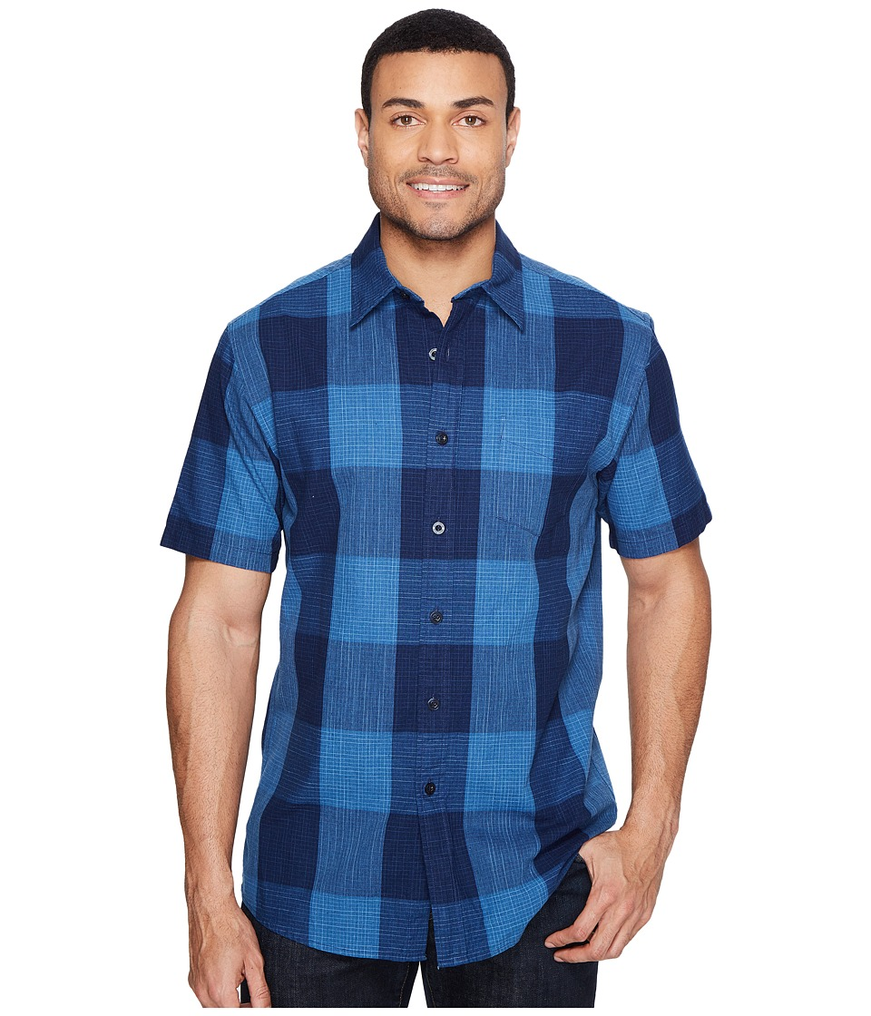 Pendleton - Tennyson Shirt Large Check (Indigo) Men's Clothing