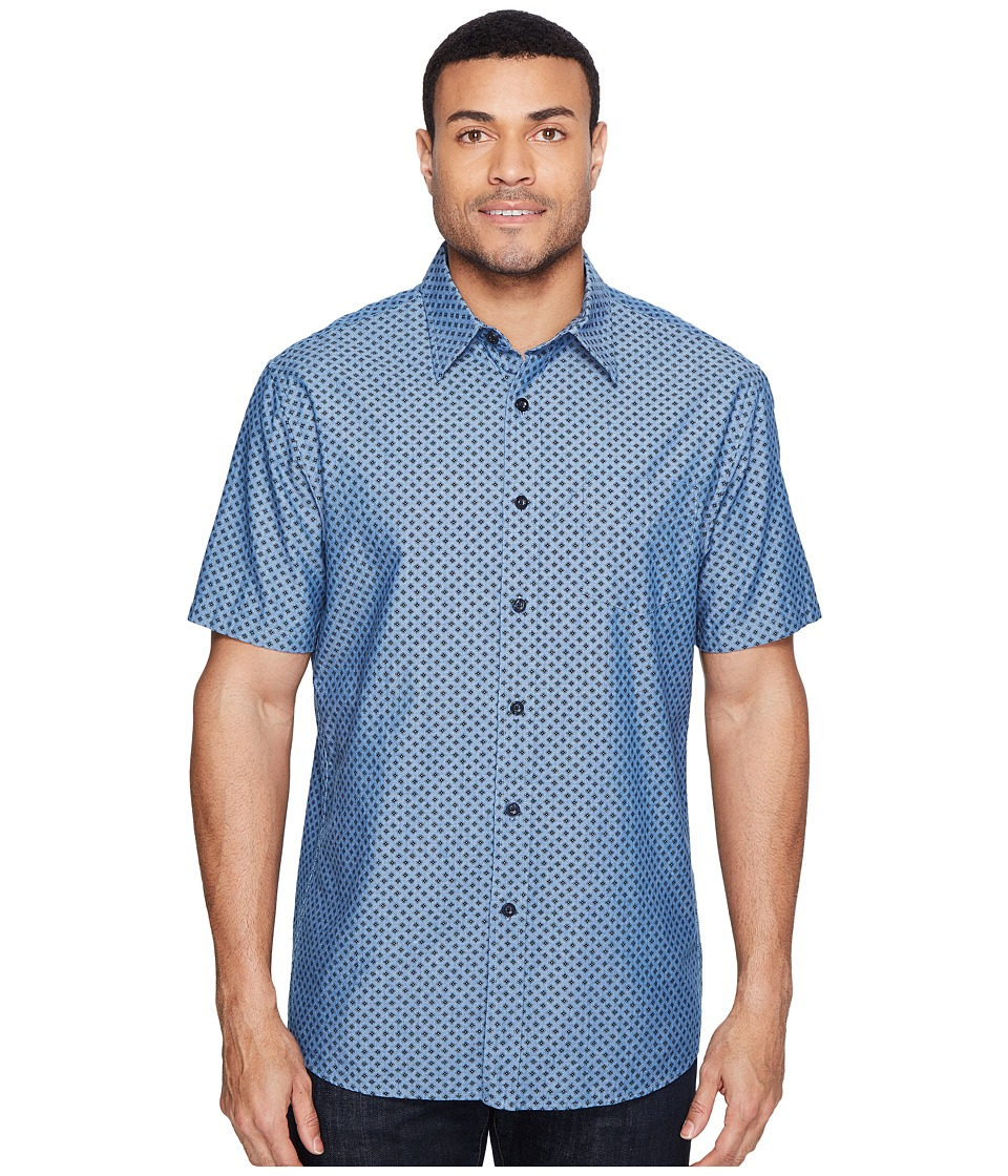 Pendleton - Tennyson Shirt Ditsy Foulard (Indigo) Men's Clothing