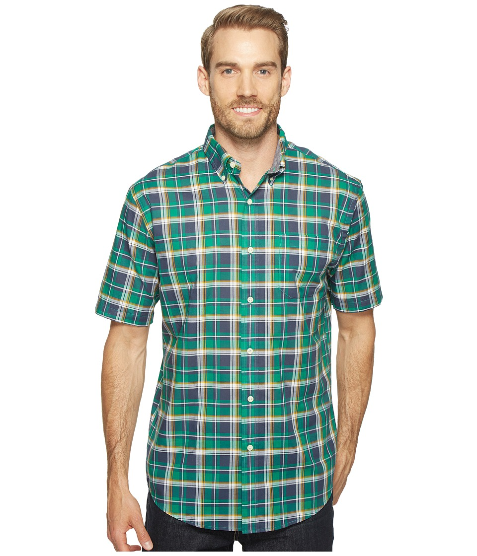 Pendleton - Seaside Shirt (Kelly Geen) Men's Short Sleeve Button Up