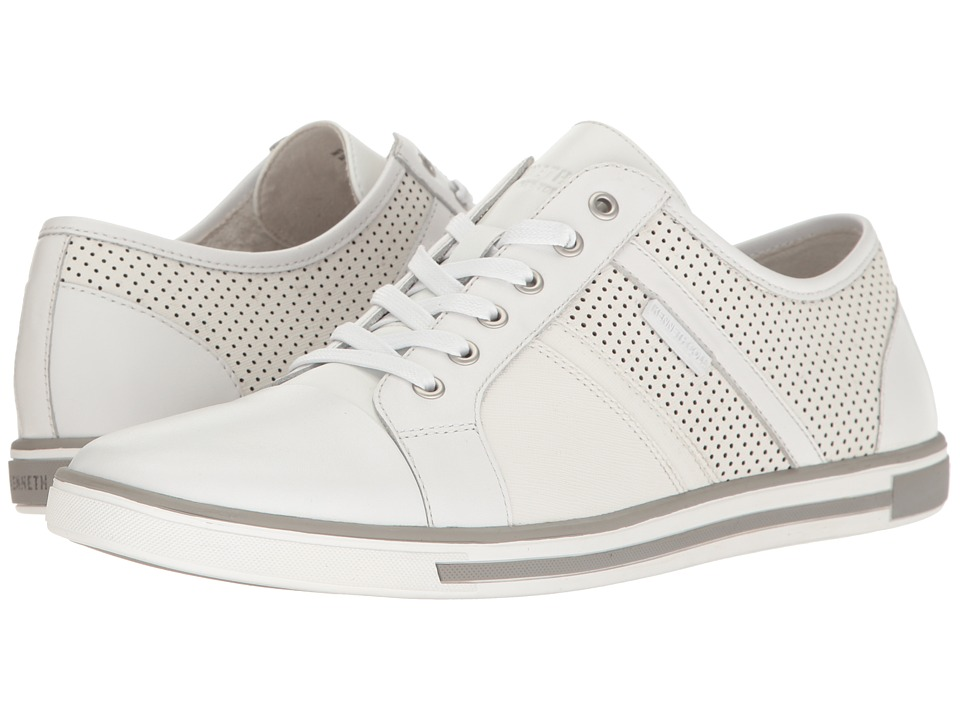 Kenneth Cole New York - Initial Step (White) Men's Lace up casual Shoes