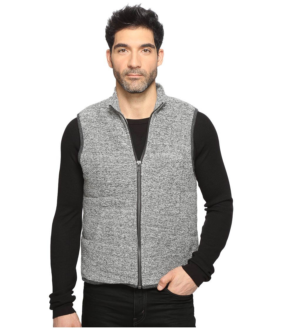 Splendid Mills - Puffer Vest (Heather Grey) Men's Vest