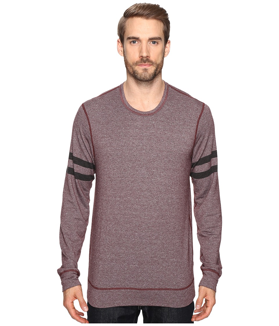 Splendid Mills - Easy Lounge Crew Neck Sweatshirt (Brick Dust) Men's Sweatshirt