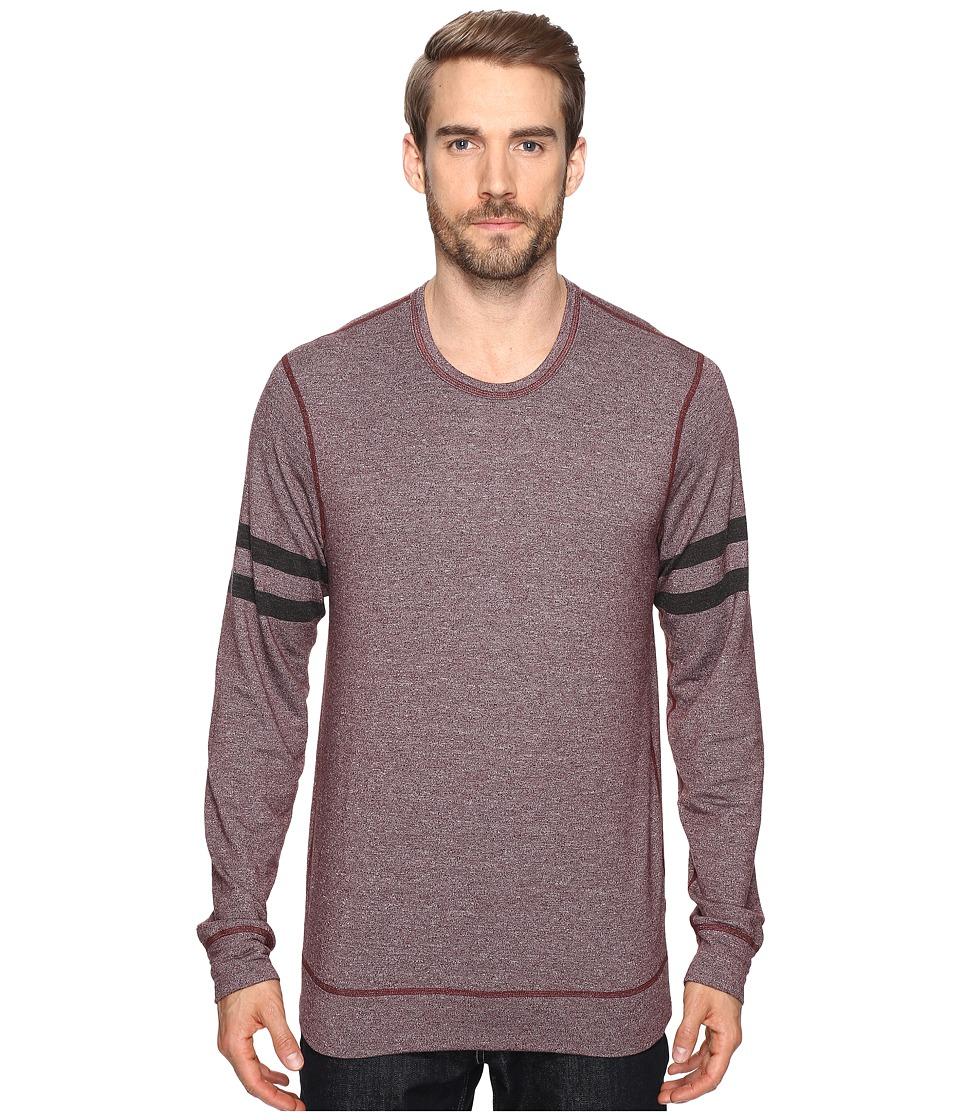 Splendid Mills - Easy Lounge Crew Neck Sweatshirt (Brick Dust) Men's Sweatshirt