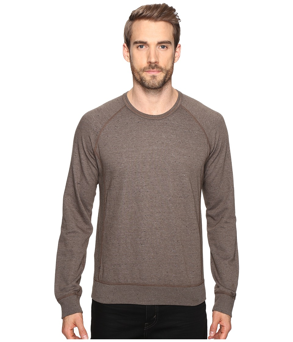 Splendid Mills - Double Face Crew Neck Sweatshirt (Oak) Men's Clothing