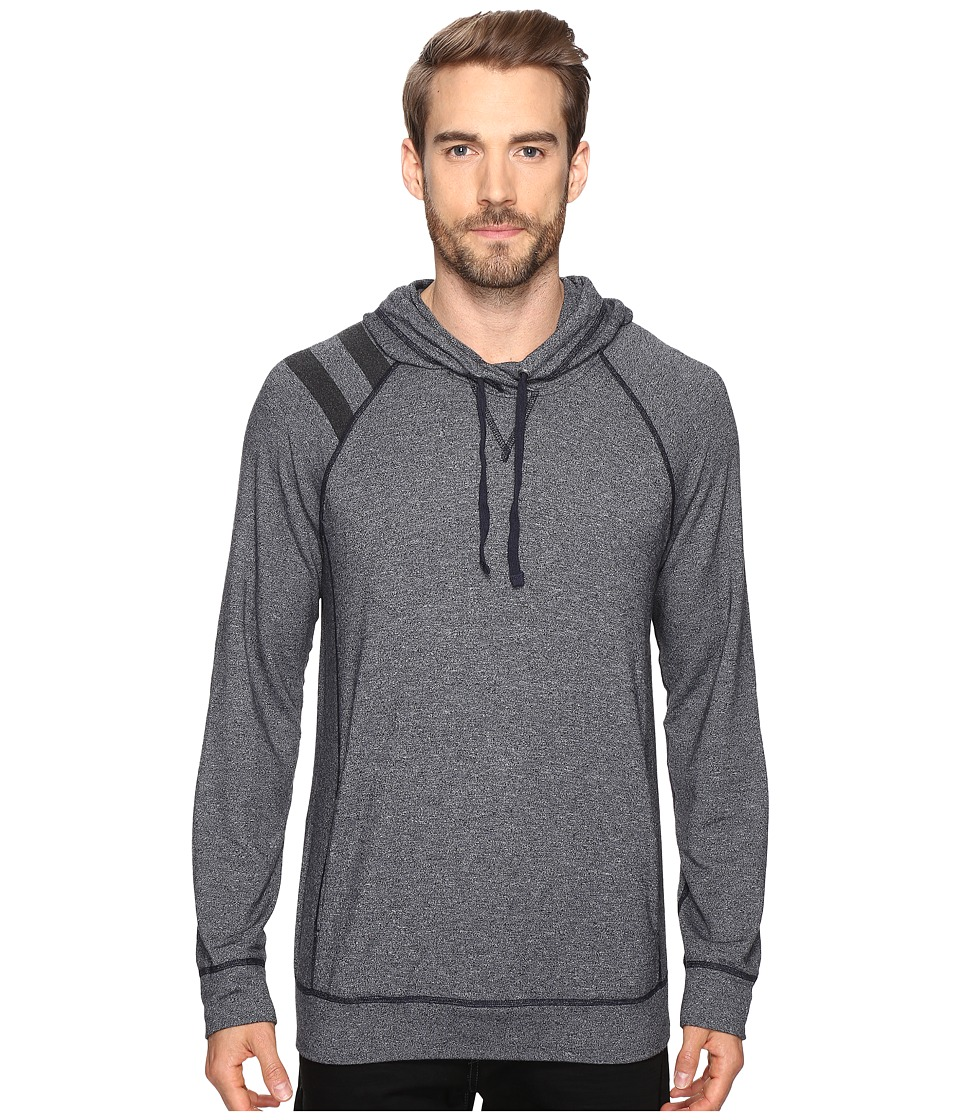 Splendid Mills - Long Sleeve Graphic Hoodie (Navy) Men's Sweatshirt