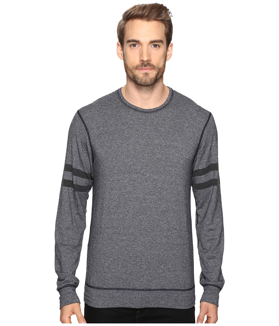 Splendid Mills - Easy Lounge Crew Neck Sweatshirt (Navy) Men's Sweatshirt