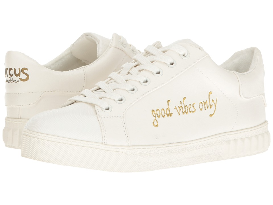 Circus by Sam Edelman - Cyrus (Bright White (Good Vibes Only) Sport Rubber/Safari Kid) Women's Shoes