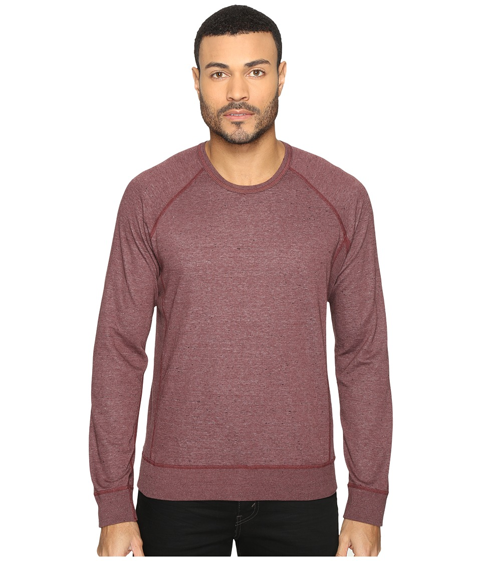 Splendid Mills - Double Face Crew Neck Sweatshirt (Brick Dust) Men's Clothing