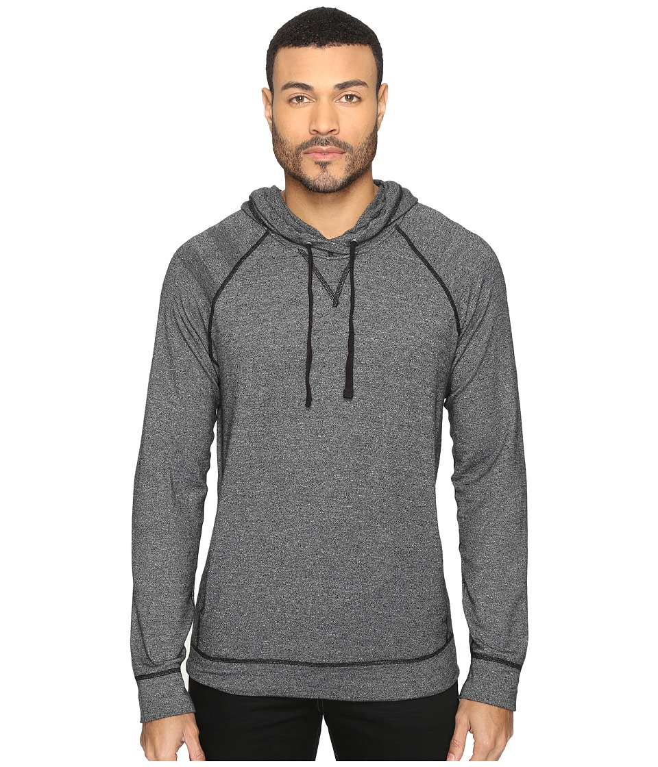 Splendid Mills - Long Sleeve Graphic Hoodie (Black) Men's Sweatshirt
