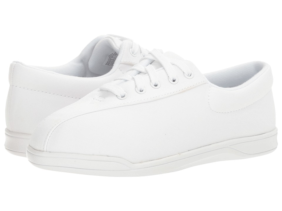 Easy Spirit - AP 1P (White Fabric) Women's Shoes