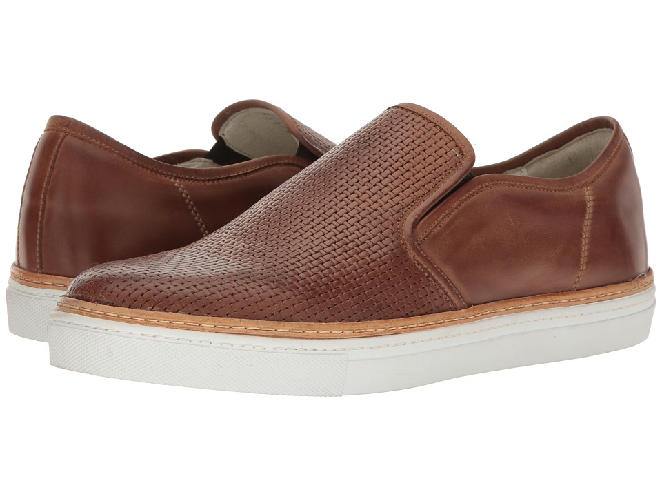 Kenneth Cole New York - Prem-Ier League (Cognac) Men's Slip on Shoes