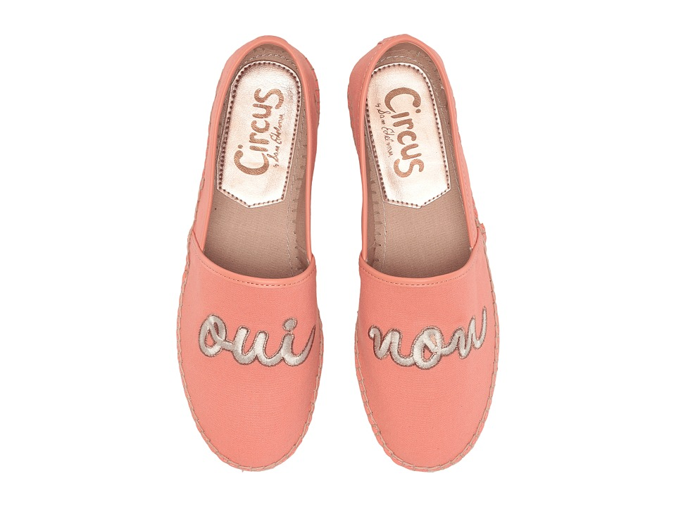 Circus by Sam Edelman - Leni 19 (Peach (Oui,Non) Washed Out Canvas) Women's Slip on Shoes