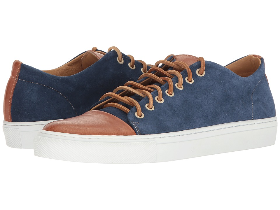 Kenneth Cole New York - Sport Car (Blue) Men's Lace up casual Shoes