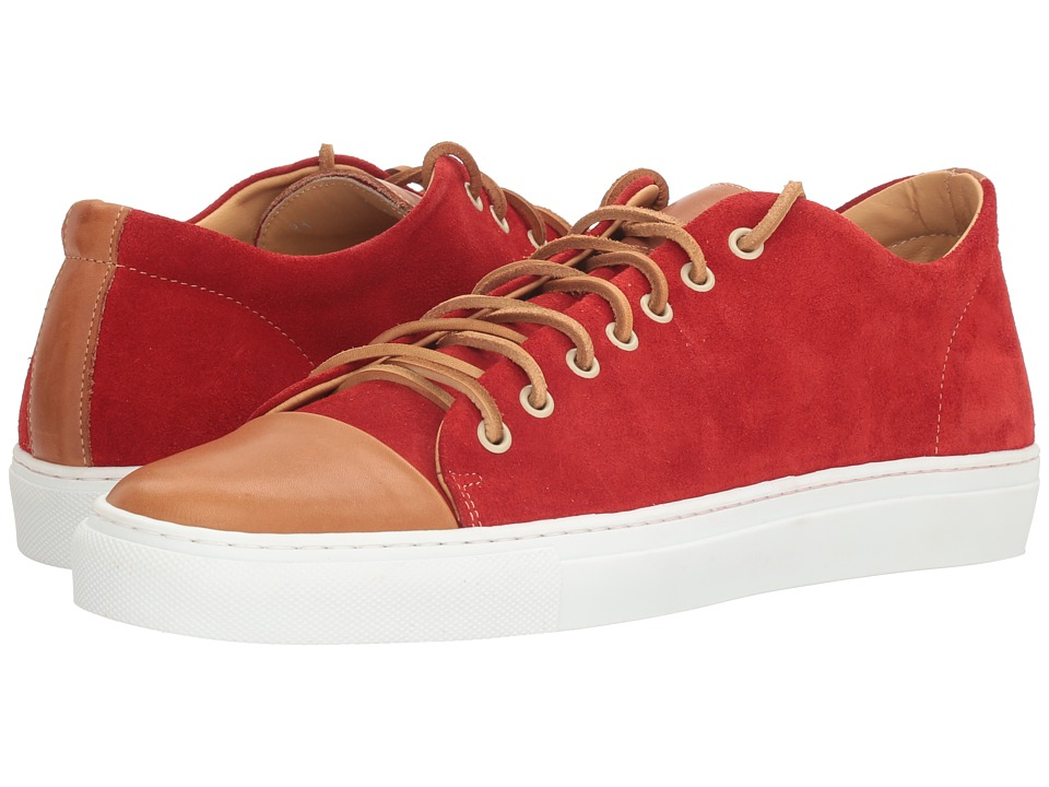 Kenneth Cole New York - Sport Car (Red) Men's Lace up casual Shoes