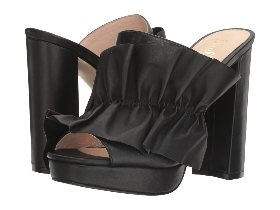 Shellys London Delphine Sandal (Black) High Heels