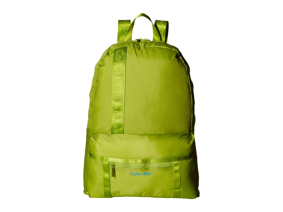Calvin Klein - Packable Backpack (Green) Backpack Bags