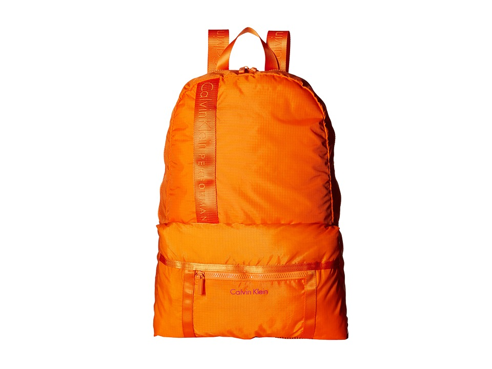 Calvin Klein - Packable Backpack (Orange) Backpack Bags