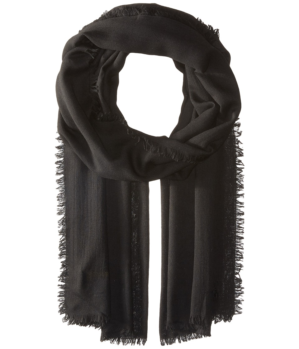 Polo Ralph Lauren - Melange Marais Wrap (Polo Black) Scarves