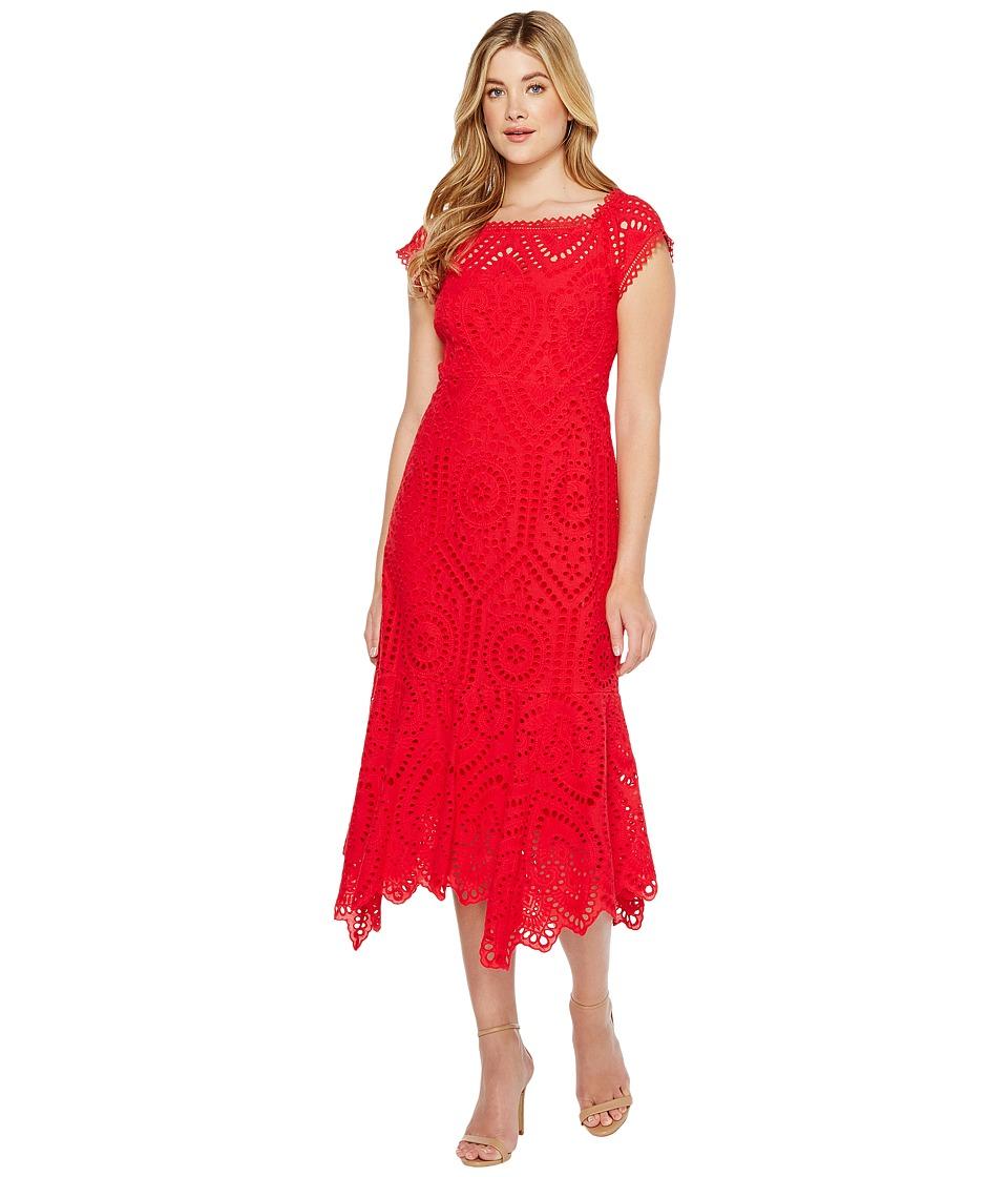 Nanette Lepore - Hey Sailor Sheath (Cherry) Women's Dress